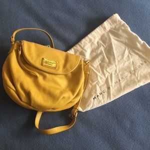Marc By Marc Jacobs rich yellow crossbody bag